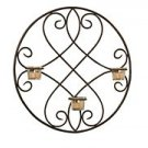 Lindsey Wrought Iron Wall Sconce LB47143-m