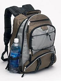 Roomy Nylon and Polyester Backpack LUBPAG-m