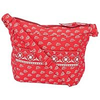 Quilted Pattern Red Hand Bag SMPREG3SR-m
