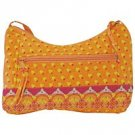 Quilted Patterned Orange Fashion Purse SMPREGO-m