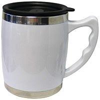 16oz White Travel Mug R11SW16A-m