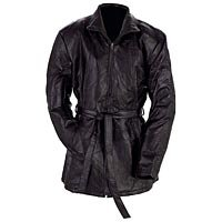 Ladies Black Leather Jacket 2X - GFLZPB