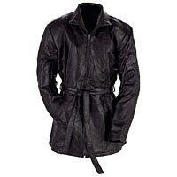 Ladies Black Leather Jacket Sm- GFLZPB