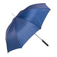 "All Weather 48"" Navy Polyester Auto Open Umbrella GFUMP48N"