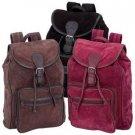 Genuine Suede Leather Backpack SMSPACKA