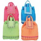 Adorable 4pc Quilted Backpack Set SMBP2SET