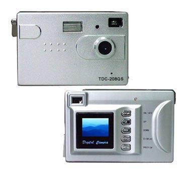 2.0M CMOS sensor interpolated to 3.0M digital camera ( TDC-208QS ), Digital Cameras, Electronics