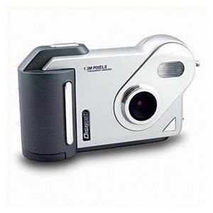 300K CMOS sensor interpolated to 1.3M digital camera ( TDC-0302 ), Digital Cameras