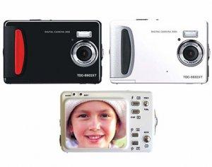 """5.0 Mega Pixels Digital Camera with 2.0""""LCD (TDC-5502XT), Digital Cameras, Electronics"""