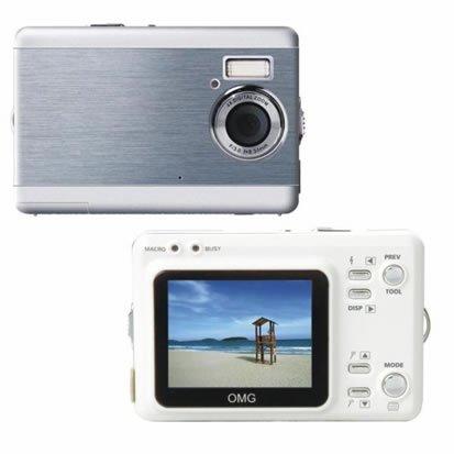"""6.6Mega Pixels Digital Camera with 2.0""""LCD (TDC-3502C), Digital Cameras, Electronics,"""