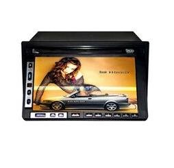 """6.5"""" 2-Din Touch Screen Color TFT LCD and Car DVD Player"""