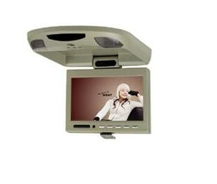 """7"""" Roof TFT LCD Car Monitor with IR Transmitter for Wireless Headphones"""