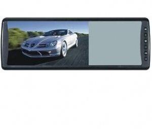 "7""Headrest TFT LCD Rearview Mirror, LG New Panel"
