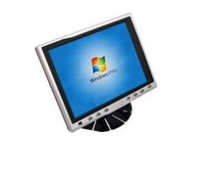 """8"""" Stand In-car TFT-LCD Car Monitor with VGA and Touch panel"""