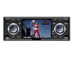 """Electronic Anti-Shock 3.6"""" Wide TFT Colour LCD and Car DVD Player with NTSC/PAL"""