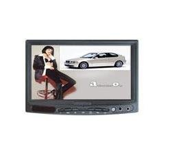 """ST-721 7"""" 16:9 Blue Screen Headrest LCD Car Monitor with LG new panel"""