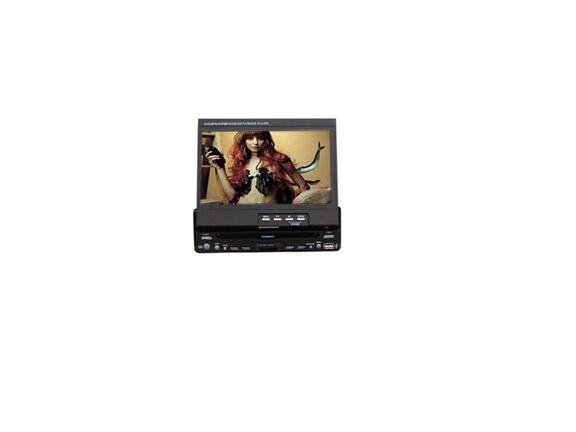 Touch Screen One-Din 7-inch TFT LCD and Car DVD Player with DVD VCD CD CD-R/RW MP3 MP4 8cm Disc