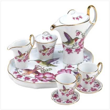 HUMMING BIRD MINI TEA SET