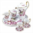 HUMMING BIRD MINI TEA SET