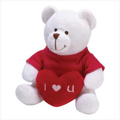"""I LOVE YOU"" PLUSH BEAR"
