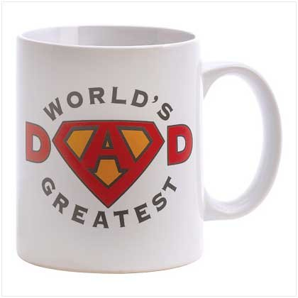 WORLD GREATEST DAD MUG (SET OF 2)