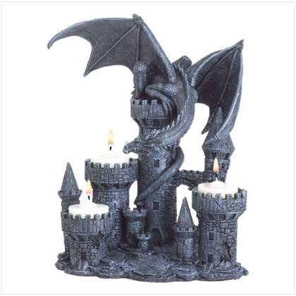 GOTHIC CANDLE SCONE