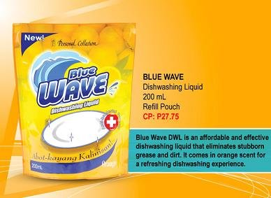 Blue Wave Dishwashing Liquid