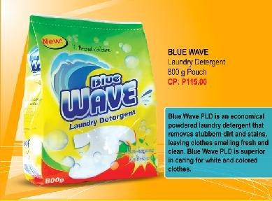 Blue Wave Laundry Detergent 800g pouch