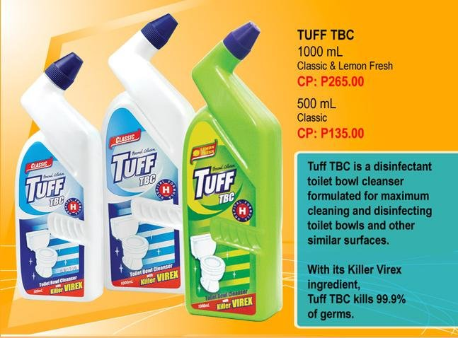 Tuff Toilet Bowl Cleaner