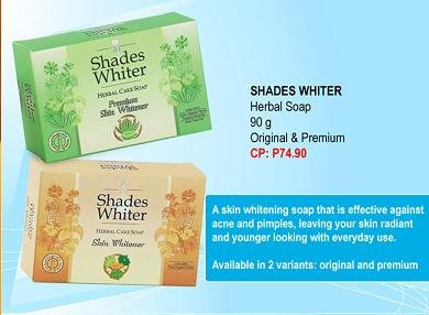 SHADES WHITER HERBAL SOAP