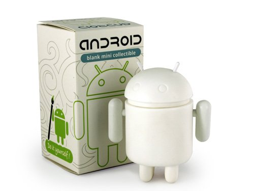 Genuine Android Mini Collectible Series - DIY White