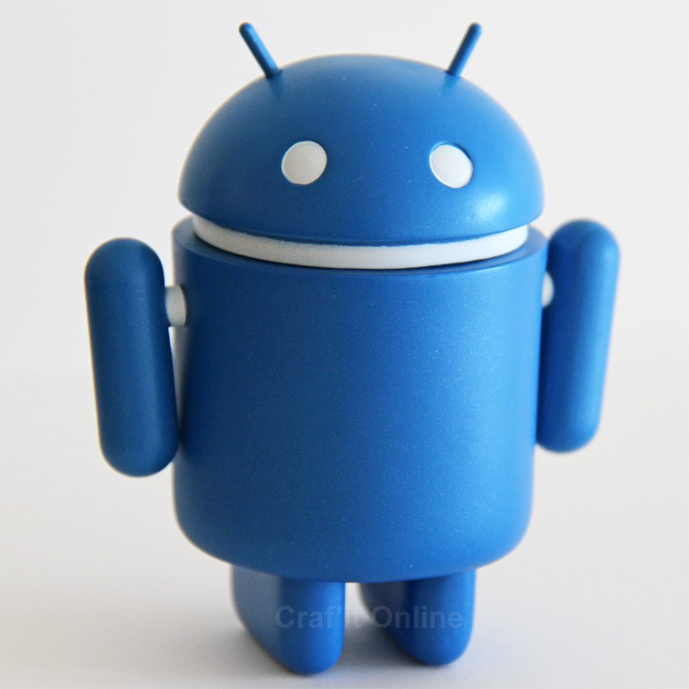Genuine Android Mini Collectible Series 2 - Bluebot
