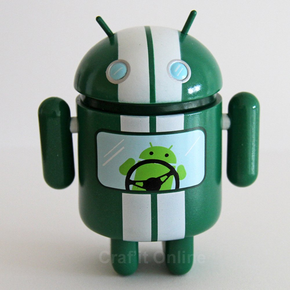 Genuine Android Mini Collectible Series 2 - Racer