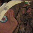 Football Leather Jacket.