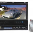 Pyle 7'' Single DIN In-Dash Motorized Touch Screen TFT/LCD Monitor w/ DVD/CD/MP3/MP4/USB/SD/AM-FM/