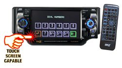 Pyle 5'' TFT Touch Screen DVD/VCD/CD/MP3/CD-R/USB/ AM/FM/Bluetooth and Screen Dial Pad
