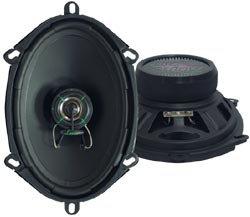 Lanzar VX 5''x 7''/6''x 8'' Two-Way Speakers