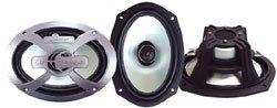 Lanzar Optidrive 6''x9'' Two-Way Coaxial Speakers 500 Watts