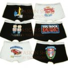 Lot of 6 pcs 09 DSQUARED D2 Man's boxers/briefs Underwear pack No 36