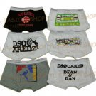Lot of 6 pcs 09 DSQUARED D2 Man's boxers/briefs Underwear pack No 32