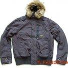 New arrival G-Star raw mans Polai Combat winter jacket/coat color purple#:0706