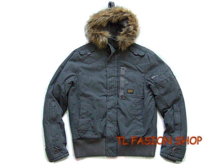 New arrival G-Star raw mans Polai Combat winter jacket/coat color Gray,#:0706