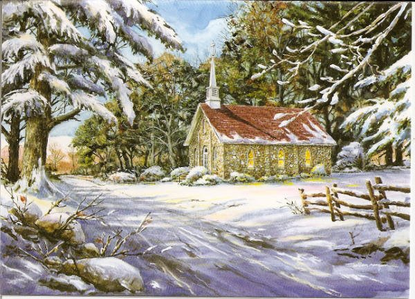Mayberry Presbyterian Church Notecards