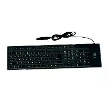 Flexi All-Silicone-Rubber PC Keyboard