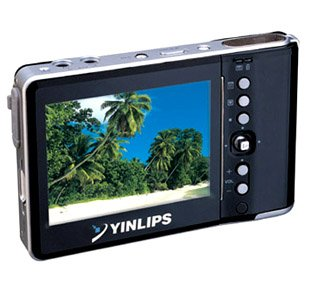 """MP4 Player 20GB, Hard Disc of 1.8"""", 3.6 inch Screen 262K Colours"""