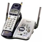 Panasonic KXTG5431S 5.8 GHz FHSS GigaRange Digital Cordless Phone with Answering System