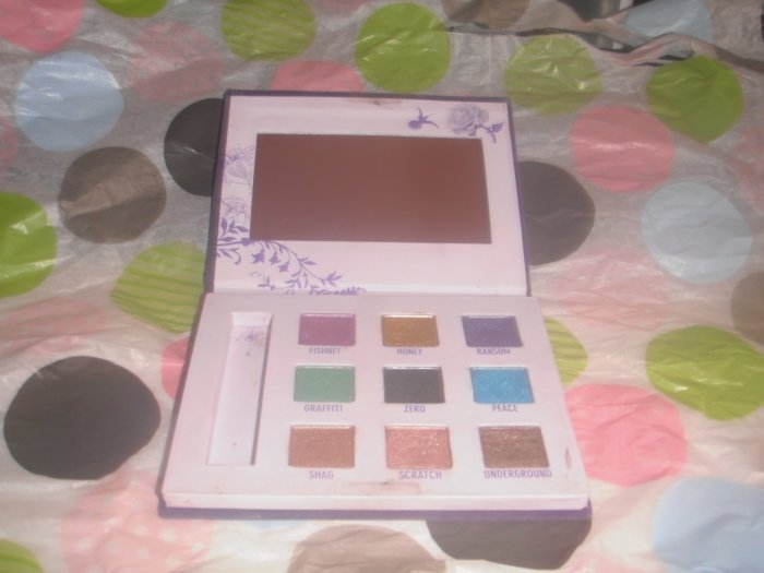 Urban Decay Deluxe Shadow Palette