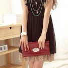 ively Sweety Chiffon + Puma Print Dress - Black