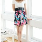 Summer Flowers Prints U-Neck One Piece