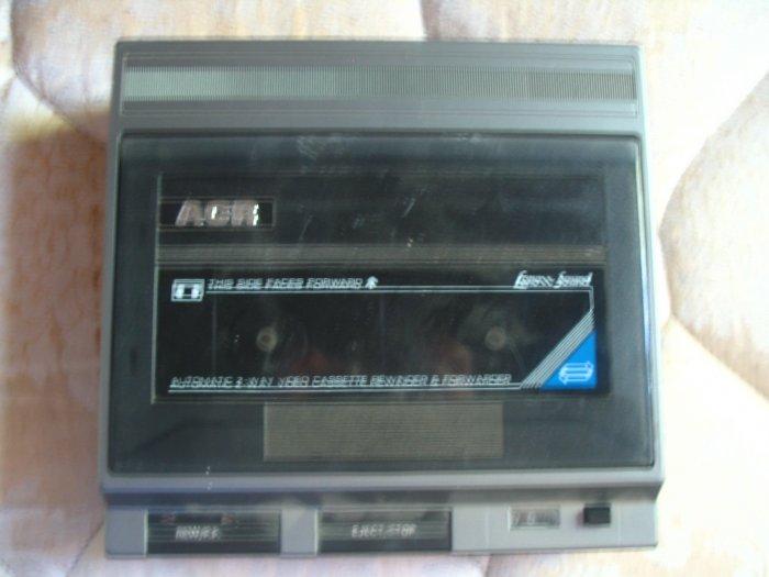 ACR Video Cassette Rewinder